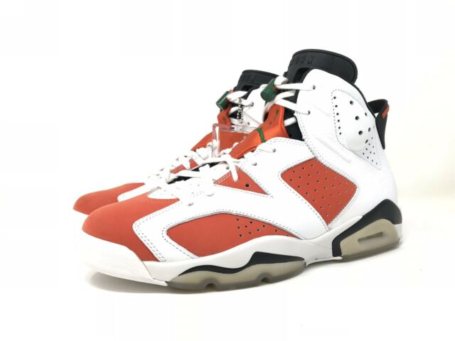 Air Jordan 6 Retro Gatorade Aj6 VI Summit White Team Orange Black  384664-145 11. +.  179.99Brand New fde21fe9d