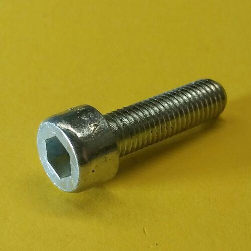 2 Stk Zylinderkopfschrauben M 7x25 DIN 912//12.9 Innensechskant verzinkt