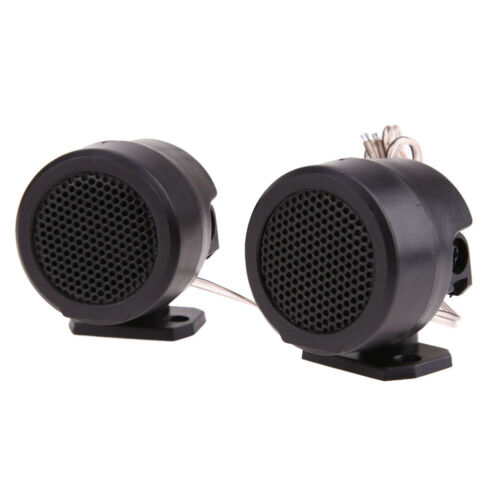 2Pcs 500W 105DB Stand Dome Audio Loud Speaker Amplifier Auto Car Tweeter Exotic