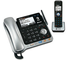AT&T TL86109 1.9GHz Corded / Cordless Phone Combo W / Digital Answering System