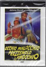 Dvd «OCCHIO MALOCCHIO PREZZEMOLO E FINOCCHIO» con Johnny Dorelli Lino Banfi 1983
