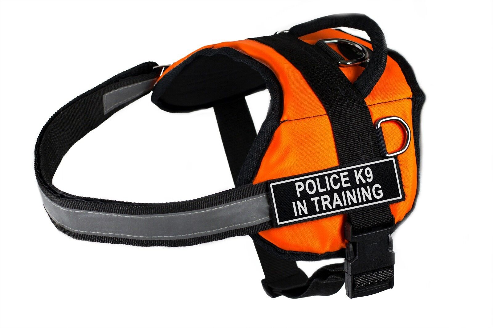 Dean & Tyler DT Works arancia Dog Dog Dog Harness with Patches for Working   Service Dogs a84813