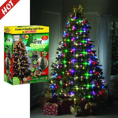 Colorful Led Light Christmas Tree Fiber Optical Night Light Bulb Lamp Xmas Decor Ebay