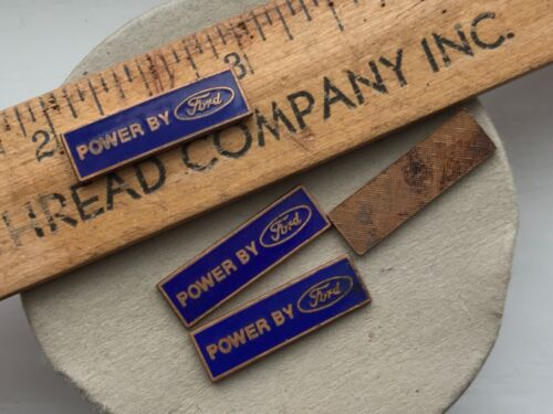 Badge #B237B 1 Vintage Ford Collectors Powered By Ford Vintage Ford Emblem