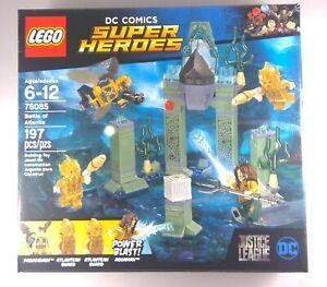 76085 new and sealed LEGO DC Comics Super Heroes Battle of Atlantis 2017