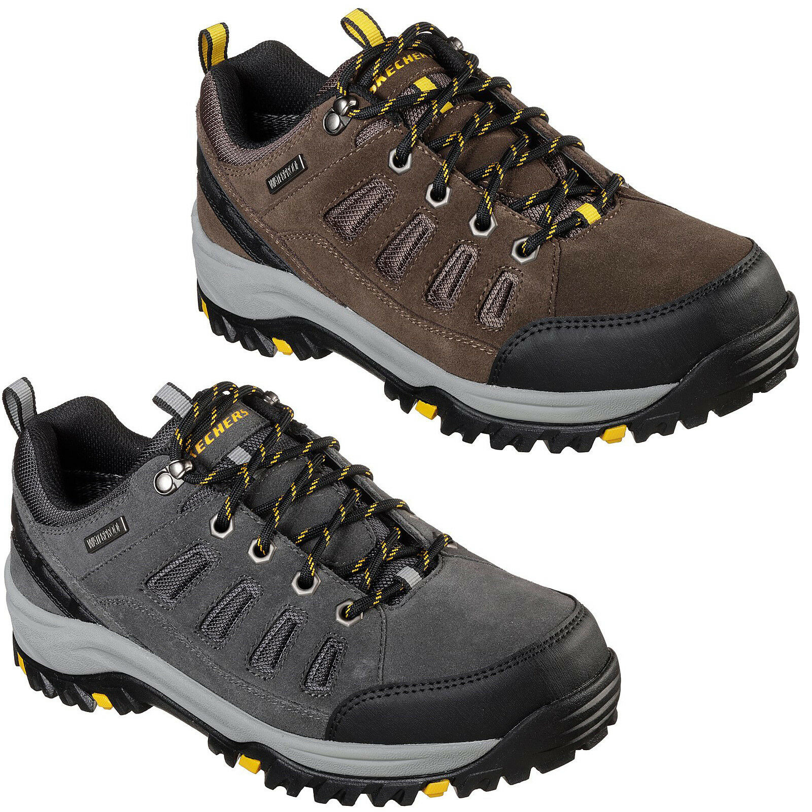 Skechers Relaxed 65673 Fit: Relment Sonego Trainers 65673 Relaxed  Uomo Memory Foam Trail Schuhes d66621