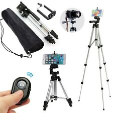 Professional Camera Tripod Mount Stand Holder for iPhone Samsung +Remote Shutter