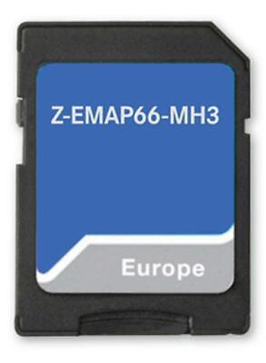 Camping P Card con Viaggio Mobile Navigazione per Zenec Autoradio // Multimediasysteme Z-E3766 e Z-N966 per Caravan 3-D Carte per Europa Zenec Z-EMAP66-MH3 : Micro SD O Tmc I