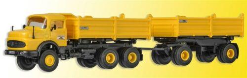 Kibri 14026 h0 camiones Mercedes rundhauber kipperzug