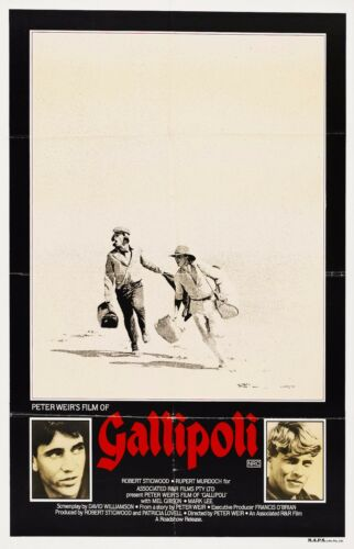 Gallipoli 1981 Retro Vintage Movie Poster A0-A1-A2-A3-A4-A5-A6-MAXI 192