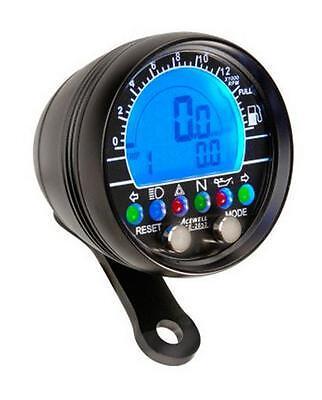 Acewell Digital Cockpit ACE-2853AB Schwarz Tacho Drehzahlmesser Uhrzeit