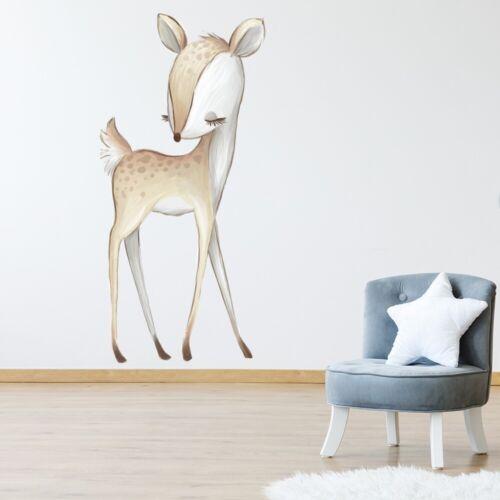 Cute Deer Nursery Wall Sticker WS-51206