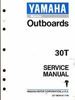 Yamaha Outboard Motor 30t Service Manual Lit-18616-01-17 (252)