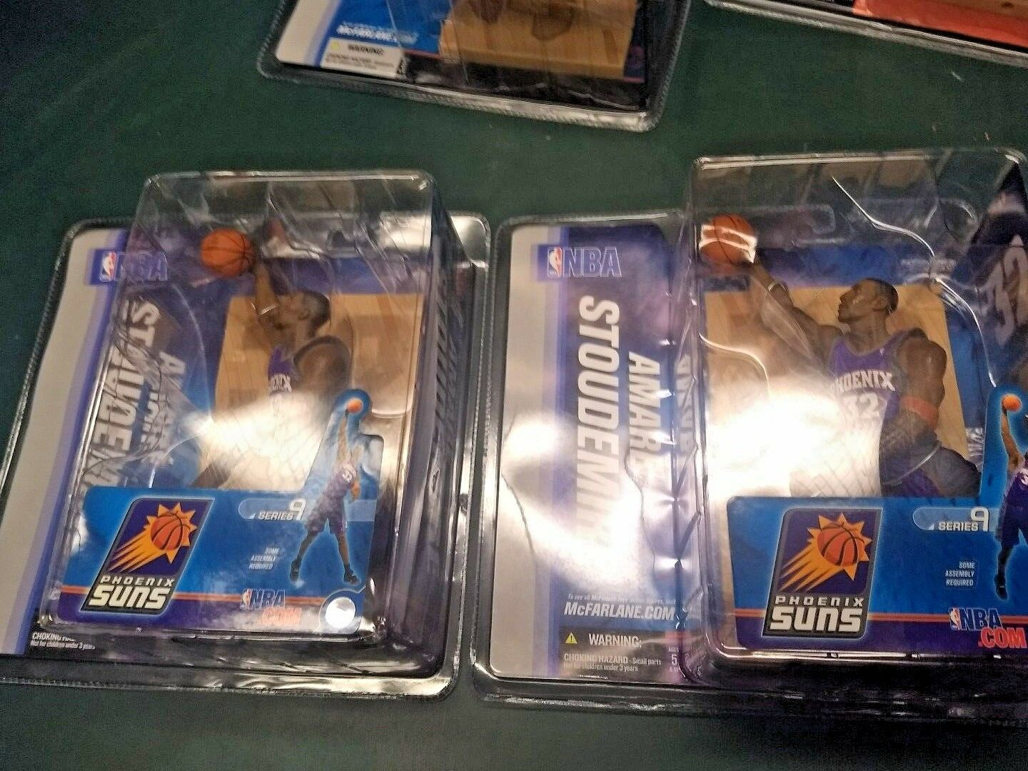 MCFARLANE NBA SERIES SERIES SERIES 9 Lot of 7 WADE, Nowitzki, Stoudemire & Okafor All NIB f6b61e