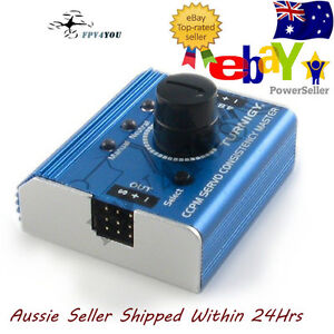 TURNIGY-RC-SERVO-TESTER-METAL-CASING-Plane-Helicopter-Quad-Car-Futaba-Free-Post