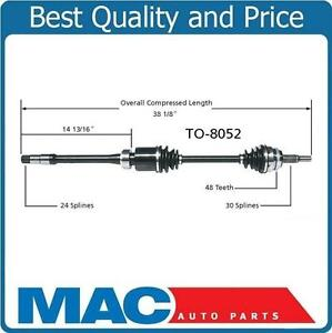 Image Is Loading New Cv Drive Axle Shaft Fits Toyota Camry