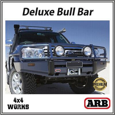 ARB Bull Bar Toyota Land Cruiser 100 Amazon (1998-02) Deluxe Winch Bumper |  eBay