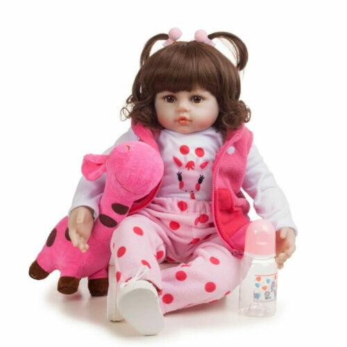 Silicone Reborn Baby Doll Bambole Hot Sale Lifelike Bambole rinascere Xmas Gift