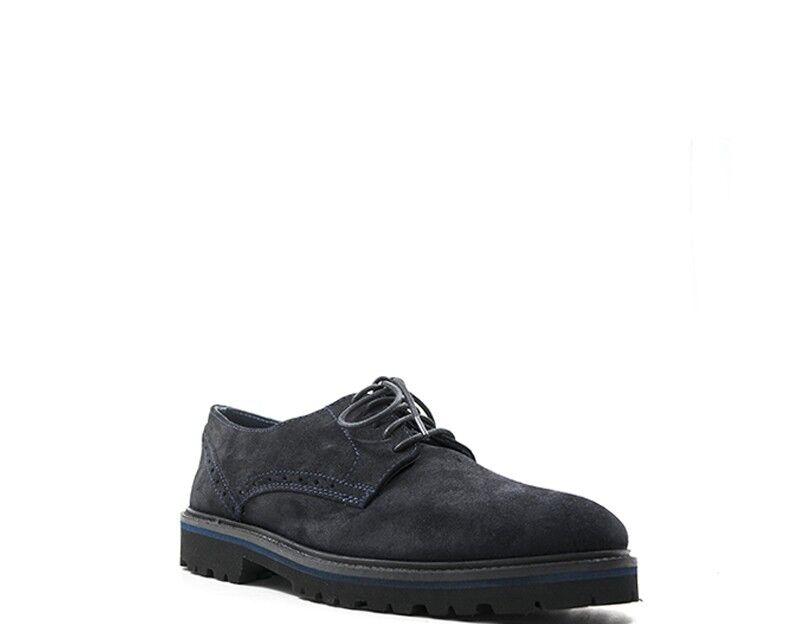 Schuhe Mann CANGURO Mann Schuhe BLU Wildleder  A169-100BS f5b1c5