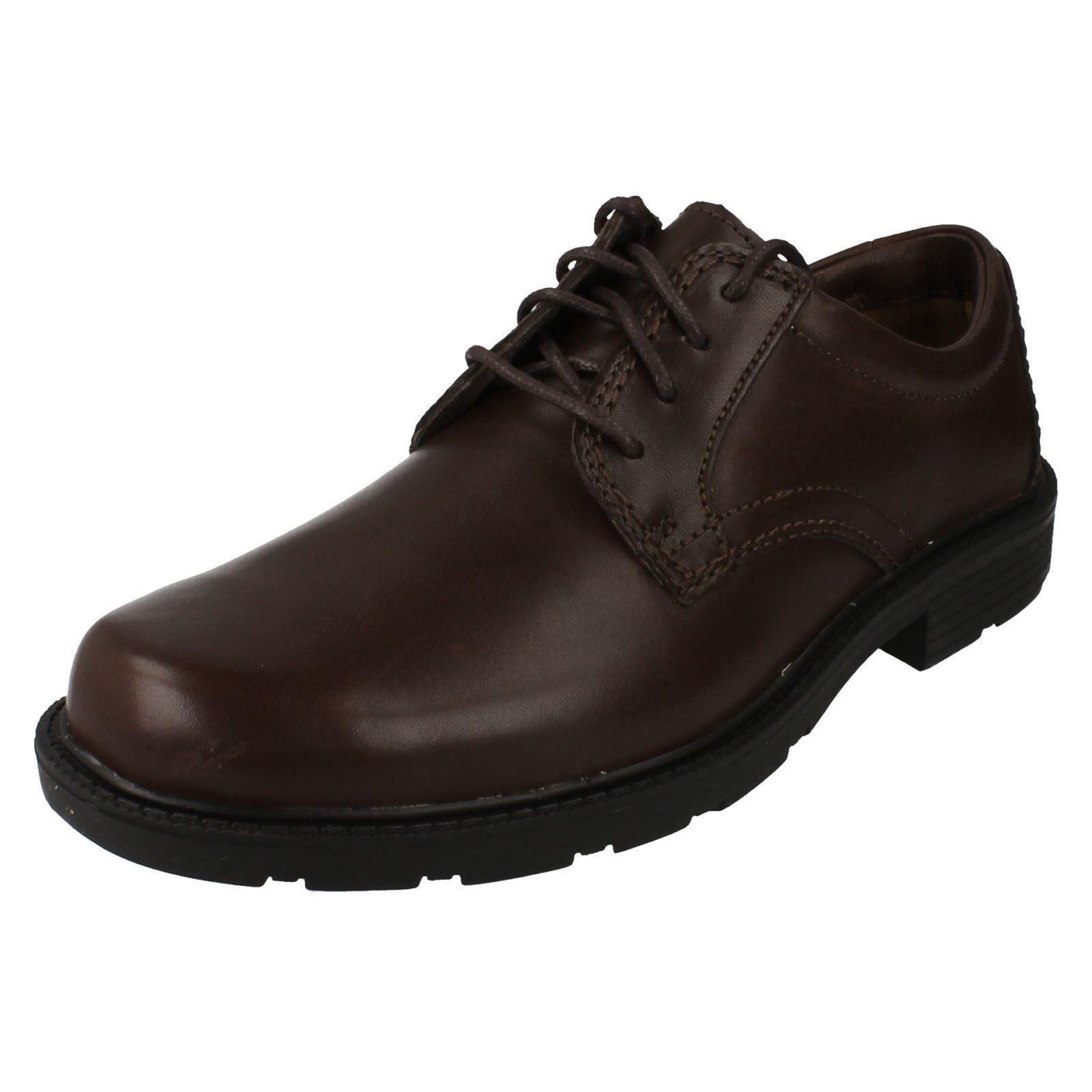 Clarks Schlupfloch Schuhe Uhr braunes Leder Schuhe Schlupfloch 10b8ae