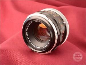 Canon FL 50mm f1.8 Standard Prime Lens - Excellent  - 598