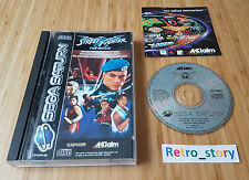 SEGA Saturn Street Fighter The Movie PAL
