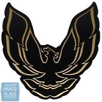 1987-90 Firebird / Trans Am Gta Tail Lamp Emblem - Black Bird With Gold - Each