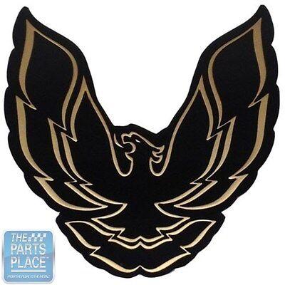Compatible with1987-1990 Pontiac Trans Am GTA Black Gold Design Key Ring