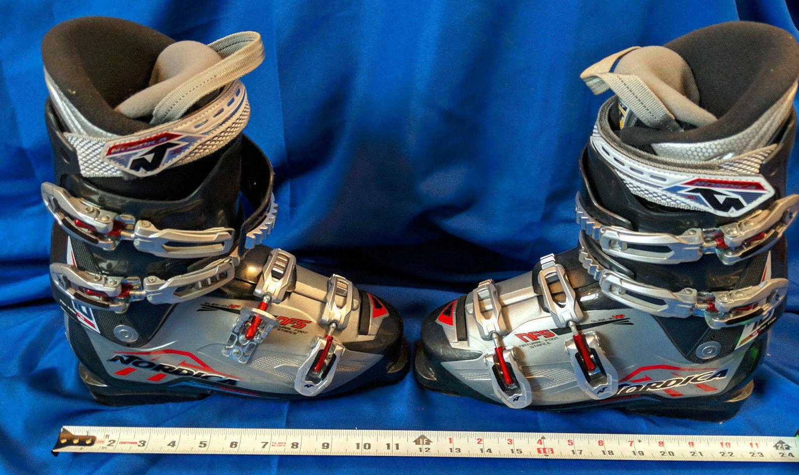 Nordica Flex Index 70 NFS 305mm Ski Boots Comfort FIt 26.5 Pro Nice