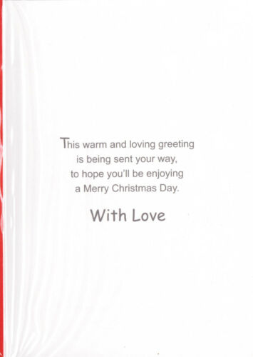 FREE P/&P Quality Card. Available In Various Designs Nan Christmas Card
