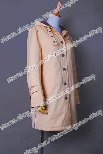 Twilight Cosplay Costume New Moon Bella Tan Long Cool Coat Comfortable To Wear
