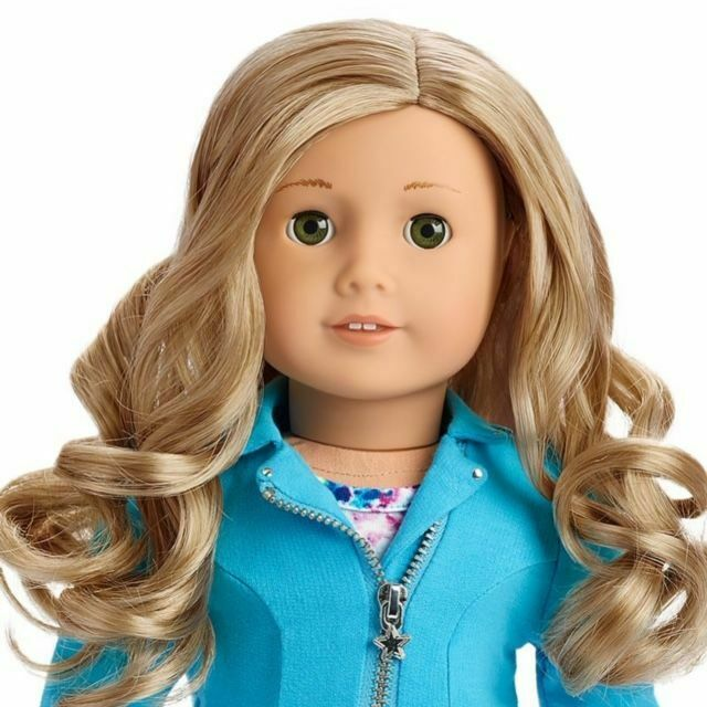 American Girl Doll 78 Truly Me With Book Light Skin Blond Hair