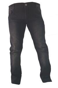 CRUIZER-Pantaloni-Jeans-Nero-Moto-Uomo-Protezioni-omologate-CE-rinforzati