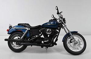 Harley-Davidson 2004 Dyna Super Glide Sport blue 1:12 Motorcycle Model