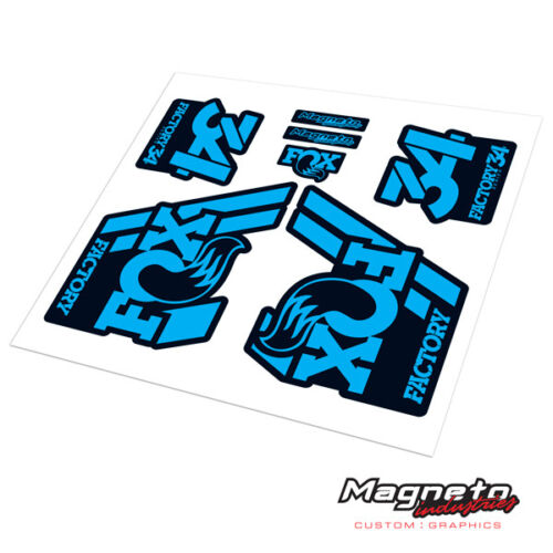Reproduction Fork Decals Fox 34 2018