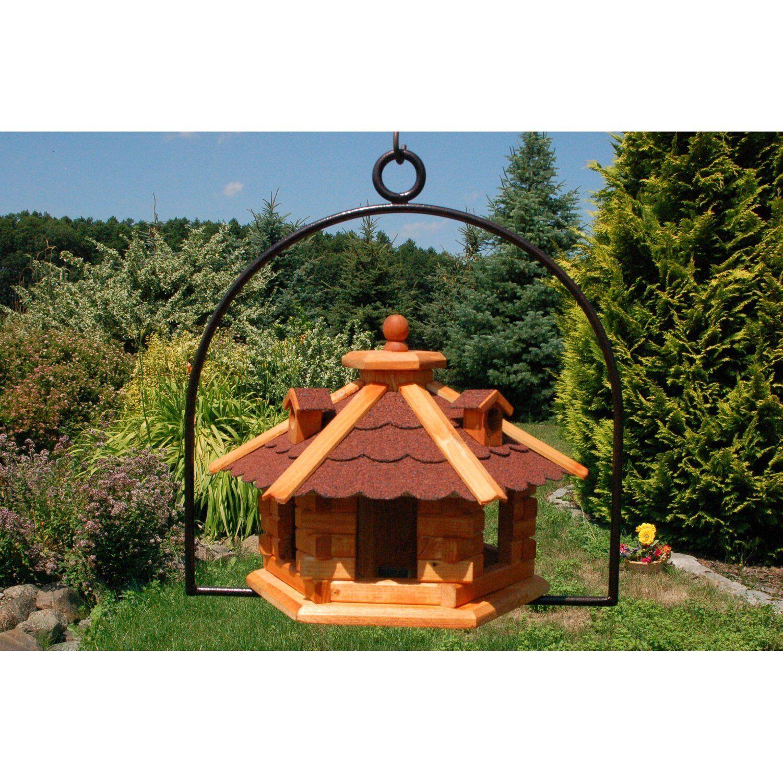 Vogelhaus zum aufhängen mit rostfreiem rostfreiem rostfreiem Bügel a. Stahl Dach rot V16 hängend | Bestellung willkommen  | Quality First  | Gewinnen Sie das Lob der Kunden  c946bf
