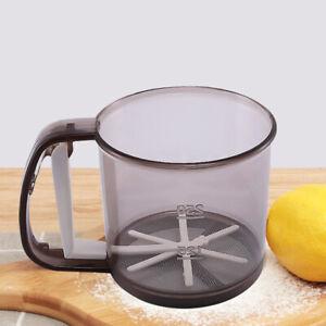 Baking Tool Hand-powder Sieve Hand-held Funnel-shaped Fine Net Kitchen Pastry
