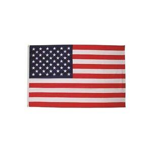 FAHNE USA POLYESTER Gr. 90 x 150 cm, mit Verstärkungsba<wbr/>nd und Metallösen