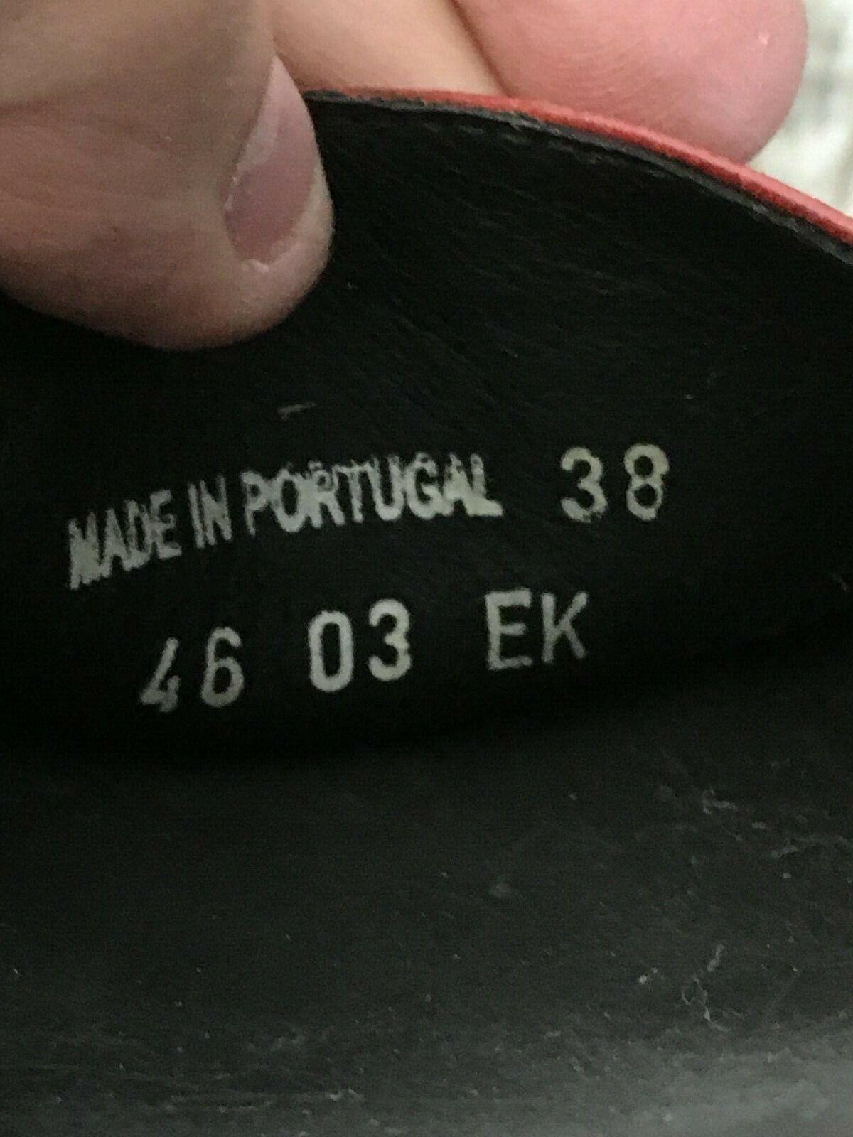 Dansko Red Leather Sandal - 38 - image 8