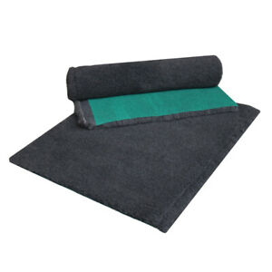 VET FLEECE Heavy Duty Whelping Fleece Bed Puppy Vet Pro Bedding Blanket Charcoal