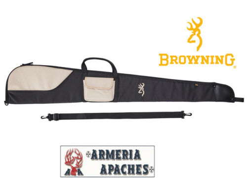 Fodero Browning Flex Phoenix nero 132 cm shotgun slip con tasca nero