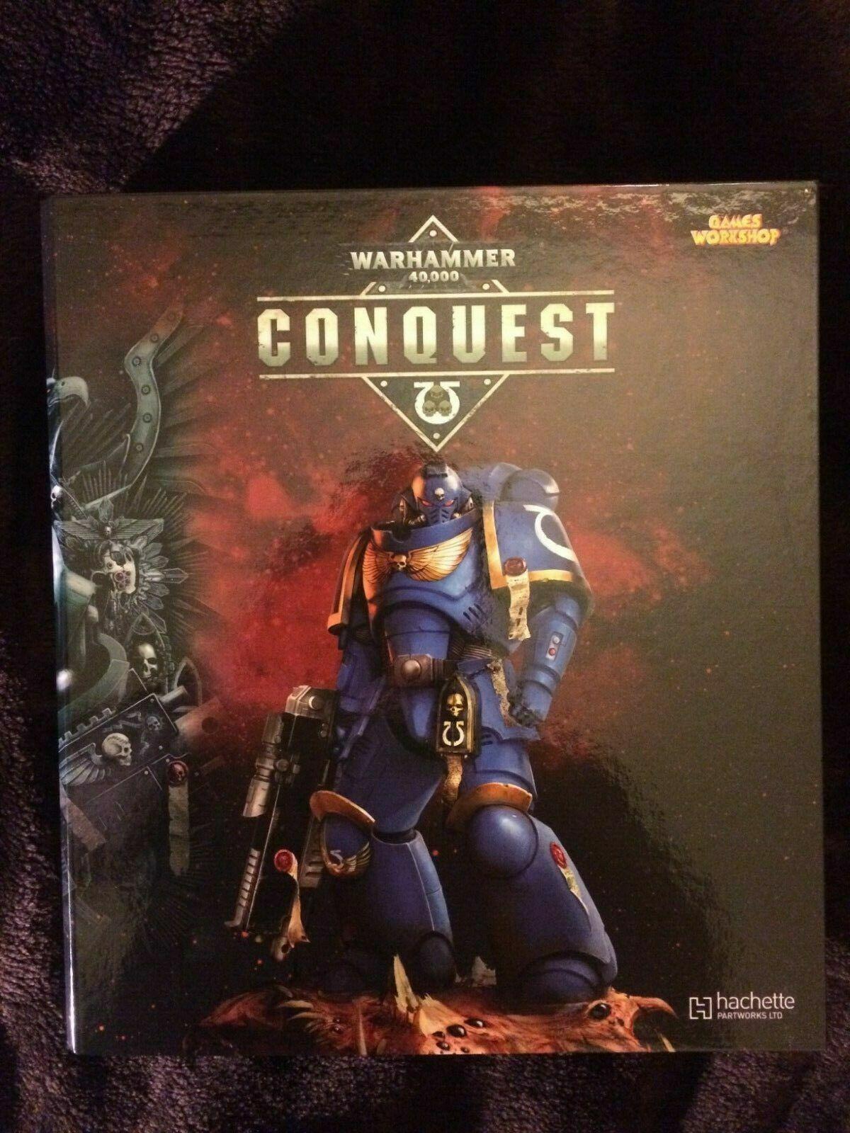 Felices compras Juegos taller Warhammer 40000 Conquest Binder nuevo titular titular titular de la revista Nuevo Hachette  Venta en línea precio bajo descuento