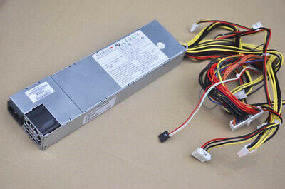 Supermicro PWS-605P-1H 1U 600W Multiple Output Power Supply TESTED