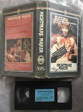 Nightmare Maker Pre Cert Atlantis VHS Nasty DPP