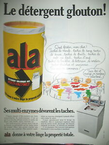 PUBLICITE-DE-PRESSE-ALA-DETERGENT-GLOUTON-MULTI-ENZYMES-FRENCH-AD-1969