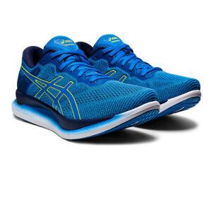 Asics-Homme-glideride-Chaussures-De-Course-Baskets-Sneakers-Bleu-Sport-Respirant