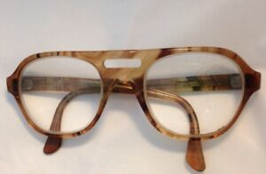 cae7dedaf87 Image is loading Vintage-Titmus-Safety-Eyeglass-Frame-Z87-53-18-