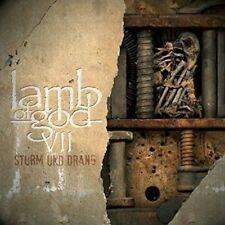 VII: Sturm und Drang [PA] by Lamb of God (CD, Jul-2015, Epic)