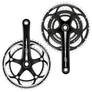 165mm,152 mm /& 127mm une seule pièce manivelle pour vélo trou circulaire vélo en argent