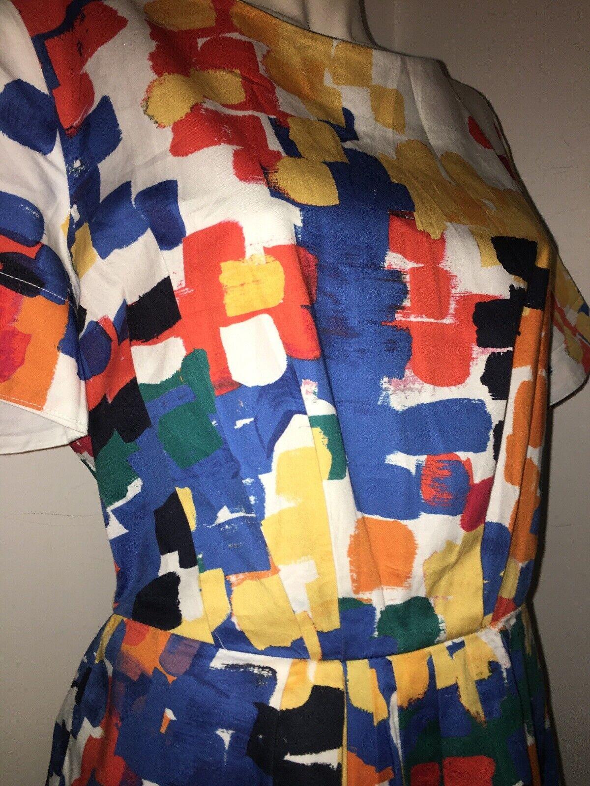 TOAST Paintbrush 1950s Dress Worn a few few few times 10 (8) 8c7dee